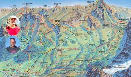Karte mit Erich und Reinhard