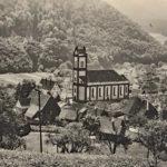 707 Blick vom Äckerleburger auf das Dorf - noch ohne Sportplatz also vor 1948