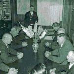 699 Gemeinderäte um 1963 mit Bürgermeister Willi Rauber
