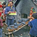 702 Brotbacken auf Grünach um 1970