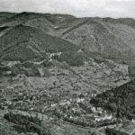 AK Wolfach um 1930 Blick auf die Altstadt und den Vorstadtberg