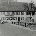 649 von der alten Wolfbrücke auf den Hirschen zu vor 1950
