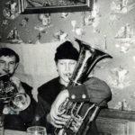 """651 """"Boschd"""" Winfried Echle bereits 1966 bei der Blasmusik (TKO) aktiv"""