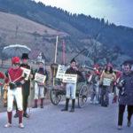 654 Fasnetsumzug um 1970 Schneesucher des Schwarzwaldvereins