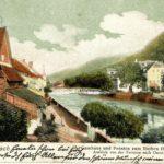"""657 Ansichtskarte Gasthaus """"Rother Ochsen"""" in der Vorstadt vor 1939"""