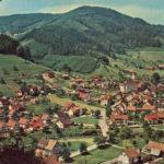 659 Ansichtskarte Oberwolfach um 1955