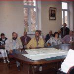 660b Besuch im Stiller Rathaus um 1990