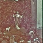 671 Farblichtbild von Pfarrer Josef Kuner um 1942: Fronleichnam in Oberwolfach