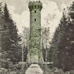 672 Alte Ansichtskarte von Fritz Duffner: Hohlohturm bei Gernsbach-Kaltenbronn