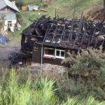 674 Brandruine Unterer Holzwald im Gelbach um 1990