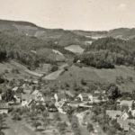 681 Blick von der Hofhalde in Richtung Frohnbach um 1955