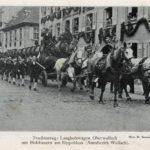 682 Festzug beim Trachtenfest in Wolfach 1912