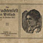 682b Bildband Trachtenfest Wolfach 1912