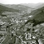 691 Luftaufnahme um 1960 von Wolfach her