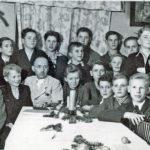 693 Pfadfindergruppe mit Werner Rohr um 1945 Oberwolfacher