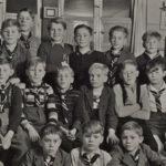 694 Pfadfinder mit Werner Rohr um 1945
