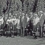 695 Familie Armbruster bei der Primiz von Klemens Armbruster