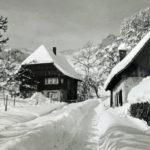 746 Schneewinter um 1950 im Frohnbach