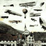 007 Ak Luftverkehr über Schiltach - Vorstellung um 1930