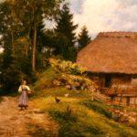 009 Steihäusle Gemälde von Hasemann