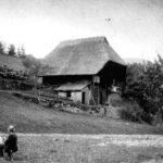 009b Hasemann beim Malen Steighäusle um 1930