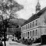 002 Ak Schulhaus an der Walke vor 1929