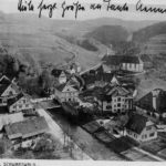 022 Ak Schapbach um 1930