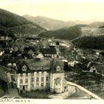 AK Wolfach Krankenhaus um 1932