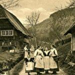 035 Ak von 1911 Wölflefamilie Bonath/Armbruster im Frohnbach