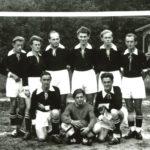 036 Oberwolfacher Fußballer um 1950 mit Alfred Baur