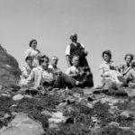 037 Kirchenchor beim Apenwandern um 1960