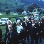 039 Festzug in Oberwolfach zm Beginn der Partnerschaft mit Still 1965