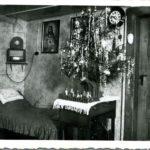 053 Weihnachtliche Wohnstube auf Grünach um 1950