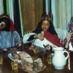055 Die Drei Könige beim Vesper im Gelbach um 1956