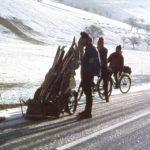 057 beim Fahrverbot wegen der Ölkrise 1972 auf dem Weg hinauf durch den Dohlenbach zum Schwarzenbruch