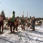 058 Ski-Vereinsrennen des Schwarzwaldvereins um 1970 auf dem Schwarzenbruch