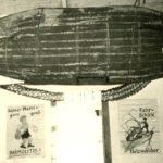 061b Fasnet um 1950 Fasnetsdekoration im Jugendheim