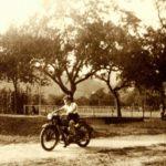 075 Motorrad-Fahrversuche um 1950