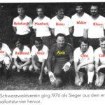 078 Schwarzwaldverein Dormeister beim Ortsturnier 1976