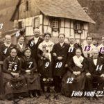 094 Familie Nock Allmend bei Hochzeit Fridolin Nock (Griesbaume) 1936