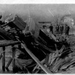 099 Unfall an der Gelbachbrücke 1954