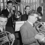 101 Musiker der Oberwolfacher Kapelle um 1960