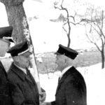 102 Geburtstagsständchen zum 90. Geburtstag für Bachweber Richard Matt um 1960