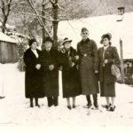 107a Familie Zander auf dem Wölflehof um 1940