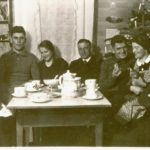 107b Weihnachten um 1940 bei Familie Zander auf dem Wölflehof um 1940