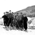 108 Skifahren um 1958 am Kirchberg