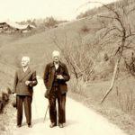 112 Naherholungsgebiet Frohnbach schon um 1950 mit dem Mathesenhof im Hintergrund