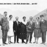 125 fröhliche Gesellschaft um 1930 - wohl dabei Josef Scherer (zweiten von links)