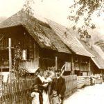 """137 Familie Lorenz Gebert Grünach """"Roselenz"""" um 1926"""
