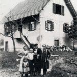 148 Haus und Familie Schmider Hoffelder um 1926